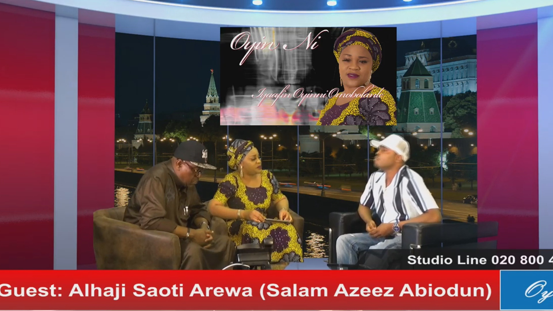 Photo of Iyaafin Host Alhaji Saoti Arewa On Oyin Nii Ontv | VIDEO