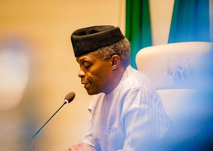 Photo of Fight back or resign – Arewa youths tell Osinbajo