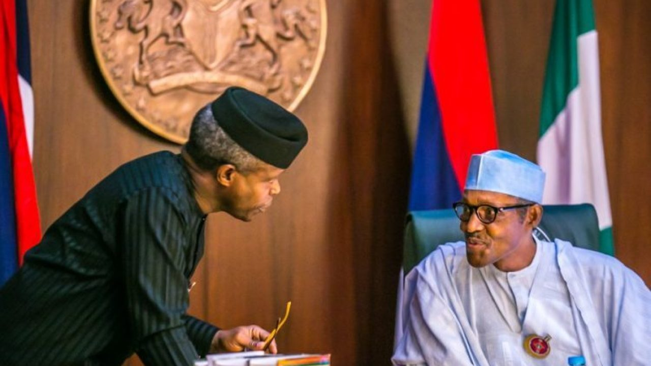 Presidency insists 'no rift' between Buhari, Osinbajo