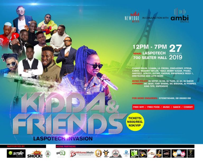 Kidda And Friends Campus Storm Laspotech Invasion 2.0