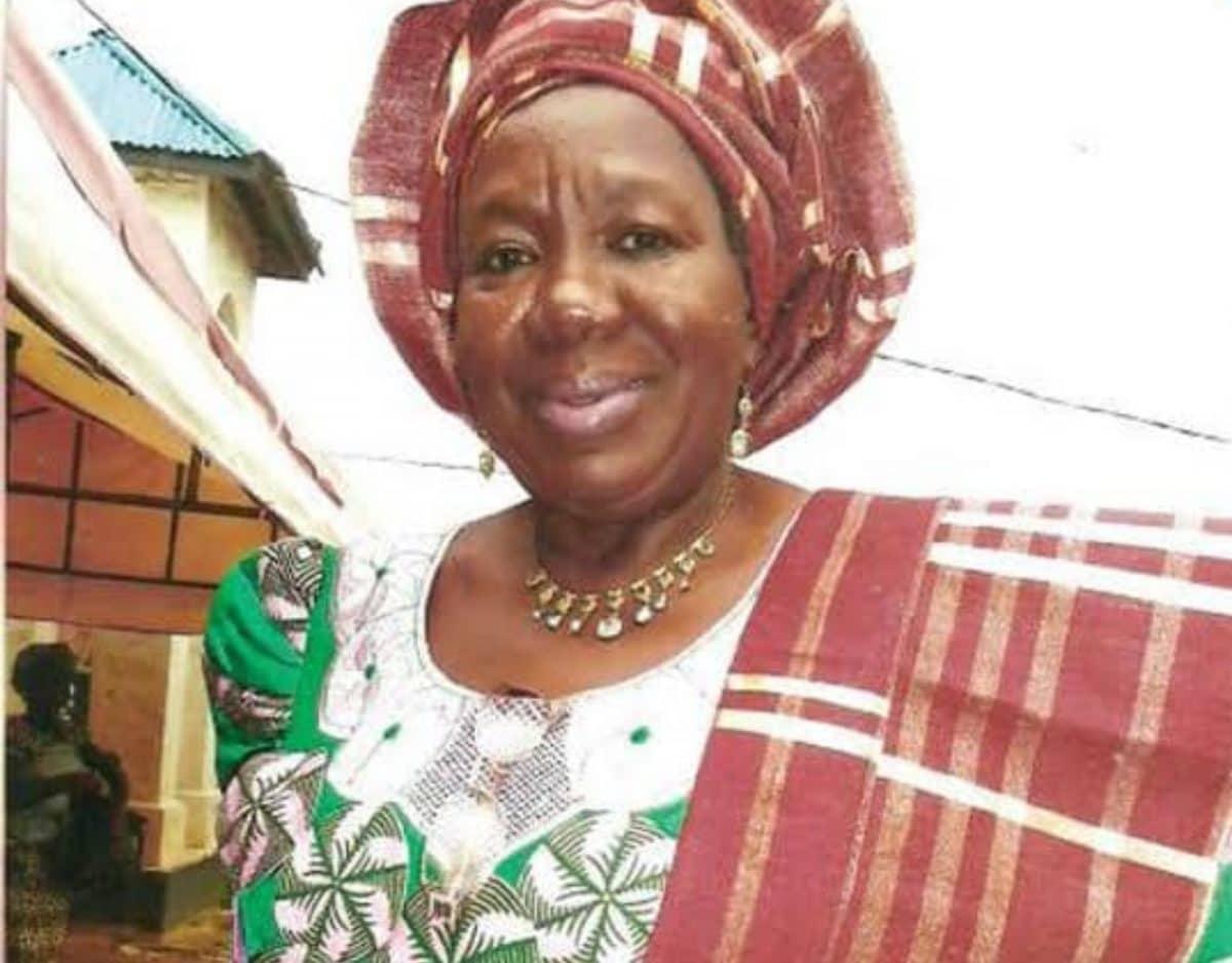 Photo of Obasanjo's former adviser, Titi Ajanaku is dead