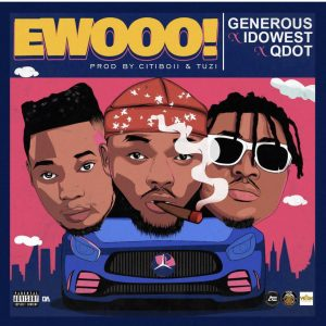 """Davido led DMW artiste Idowest alongside street anthem crooner Qdot jumps on Generous' ""EWO"" track"""