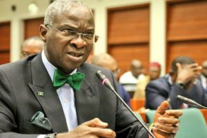 Fashola justifies move to add $22.7billion to debt profile