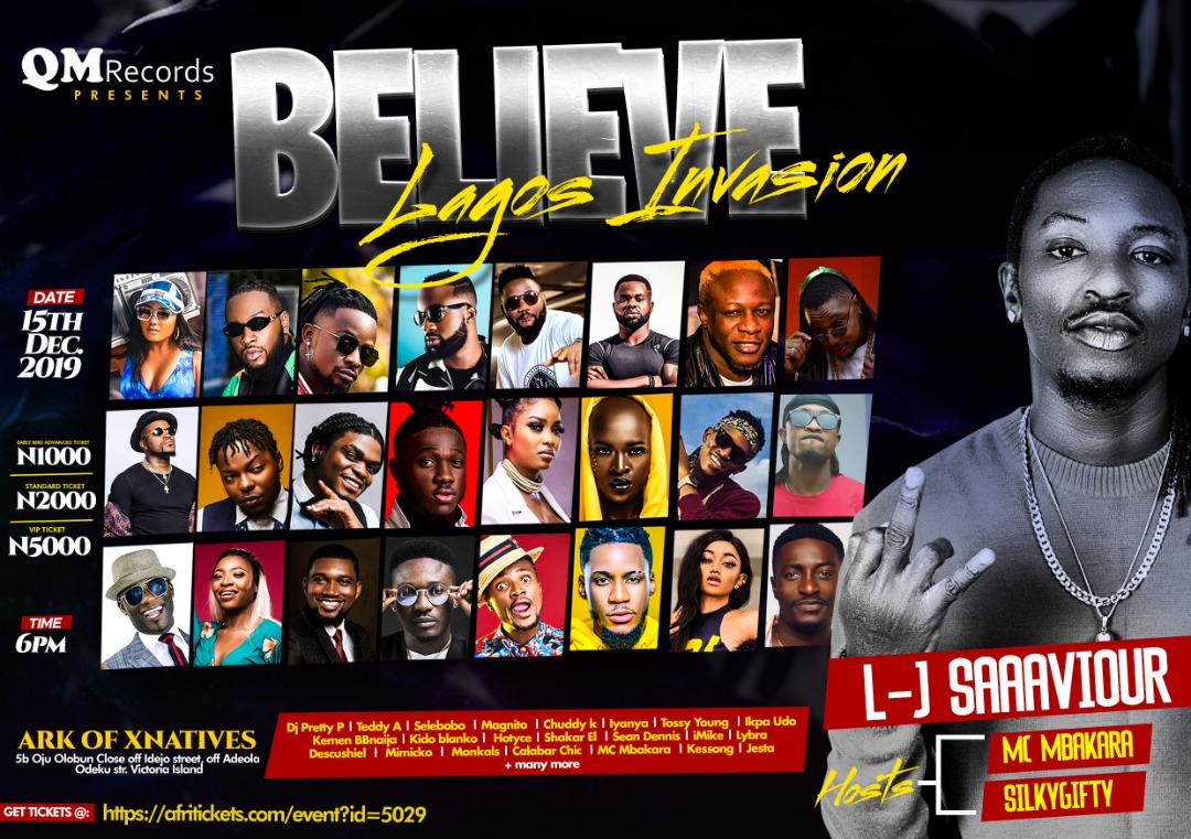 Photo of L-J Saaaviour Announces Believe Concert