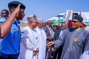 President Buhari returns to Abuja from Egypt