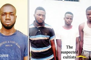 Police apprehend four cult members for murder in Lagos