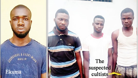 Photo of Police apprehend four cult members for murder in Lagos