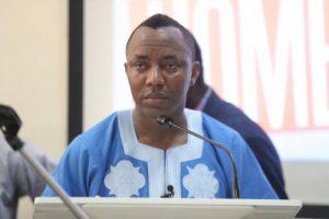 Sowore: DSS releases activist after court mandate
