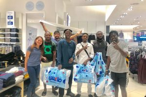 Promise Ilebor popularly known as KINGP, BRG team on shopping spree in Dubai, London