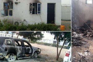 Boko Haram: 5 UN staff cheat death as humanitarian hub razed in Borno