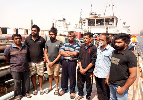 EFCC takes custody of over 57 Nigerians, 7 Sri-Lankans, 2 Ghanaians arrested by Navy over oil bunkering