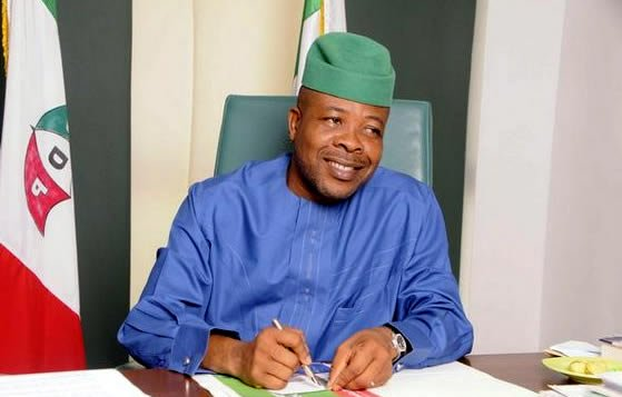Ihedioha criticises electoral process, says 'democracy on trial'