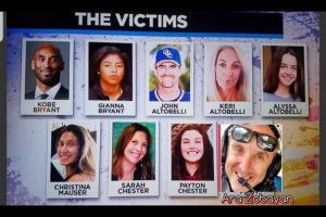Kobe Bryant: Revealed – Identities of the 9 killed in fatal helicopter crash