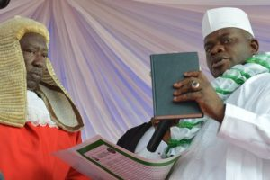 Gov. Bello takes oath of office for another four years