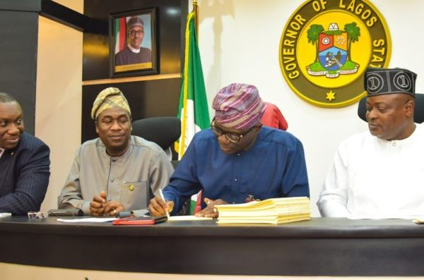 Sanwo-Olu signs N1.17trn 2020 budget into law