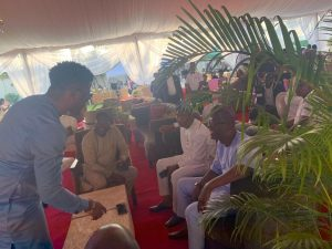 Photos: Seyi Awolowo Meets Governor Sanwo Olu