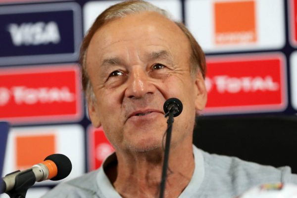Rohr reacts to Super Eagles' 2022 World Cup qualifying group