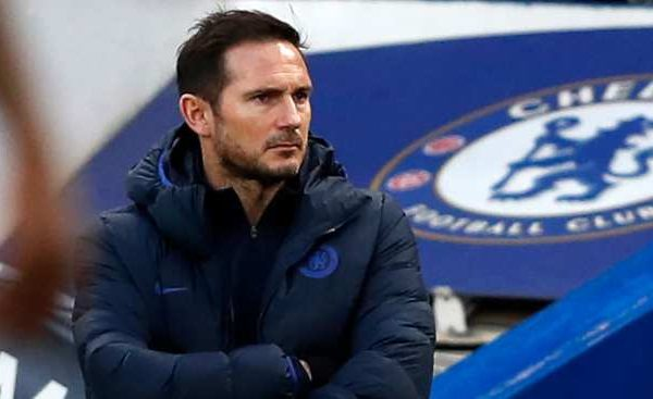 Lampard reveals who to blame for Chelsea's 2-0 loss to Man United