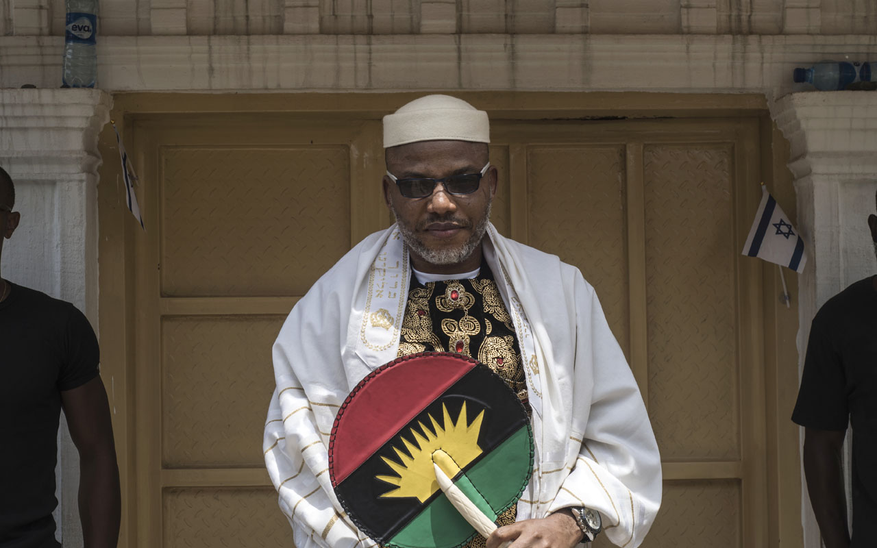 Photo of Nnamdi Kanu: Abia Police slams rumours regarding plot to scuttle burial of parents