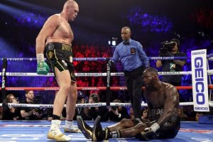 Tyson Fury dethrones Wilder
