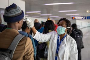 Coronavirus In Lagos: Drama As Face Masks And Hand Sanitisers Sold Out In Megacity