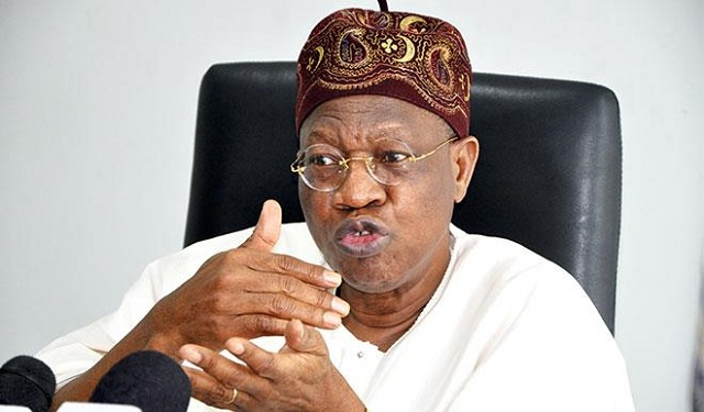 Photo of Lai Mohammed explains 'not yet time' for Buhari to address citizenry amidst coronavirus fears