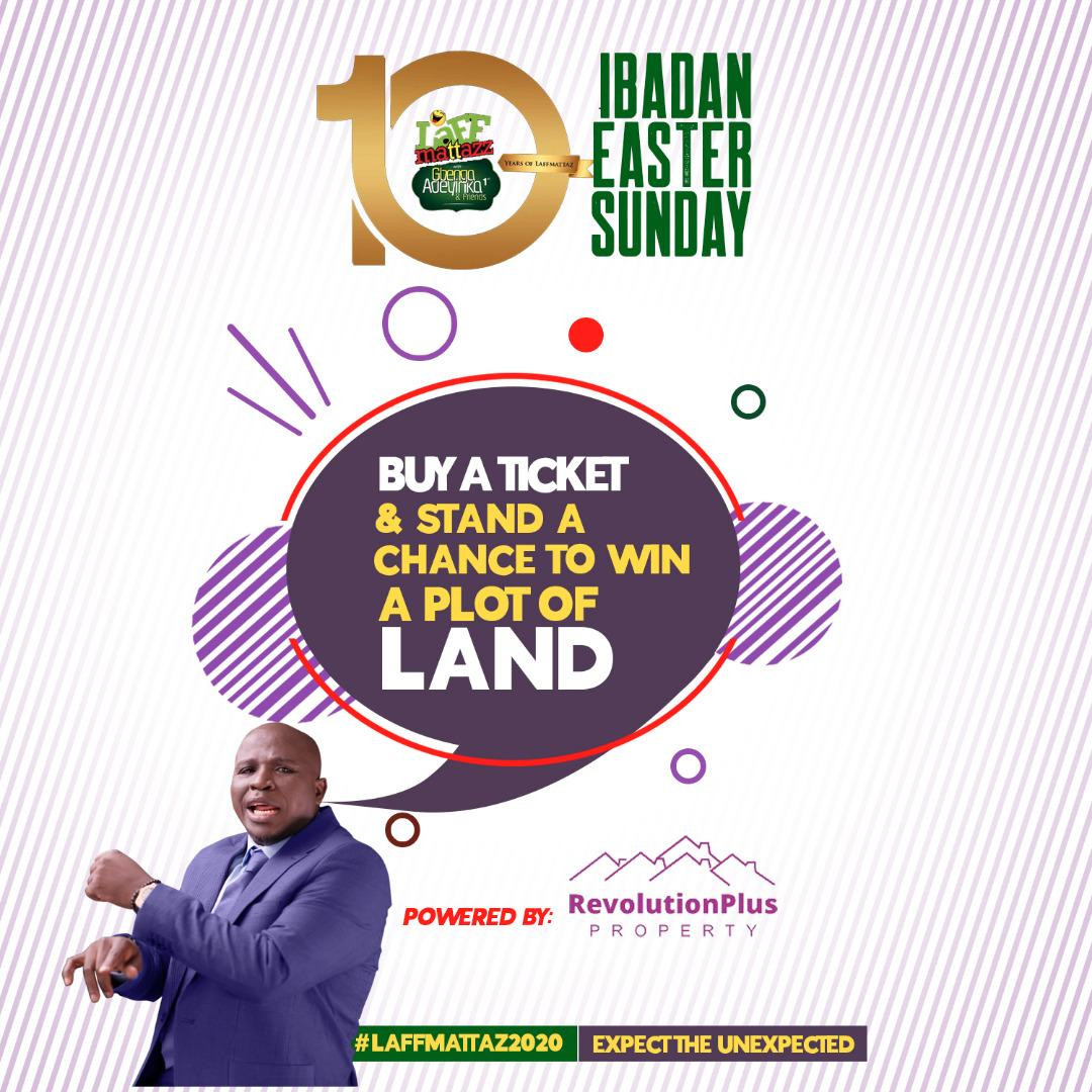 Photo of Gbenga Adeyinka celebrates a decade of Laffmattazz in Ibadan; Plans to give out Land