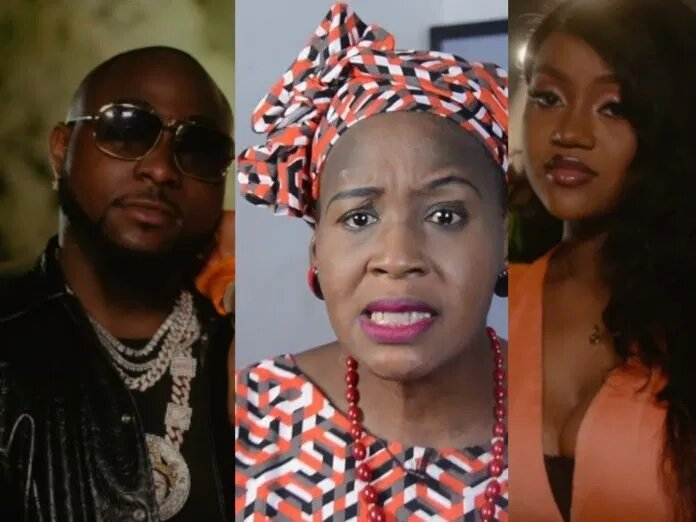 Photo of Davido's Fiancee Chioma Does Not Have Coronavirus-Kemi Olunloyo Claims