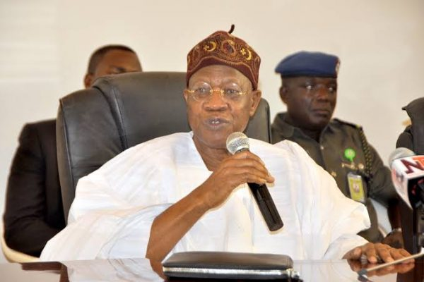 Lai Mohammed laments fake news distracting fight against COVID-19