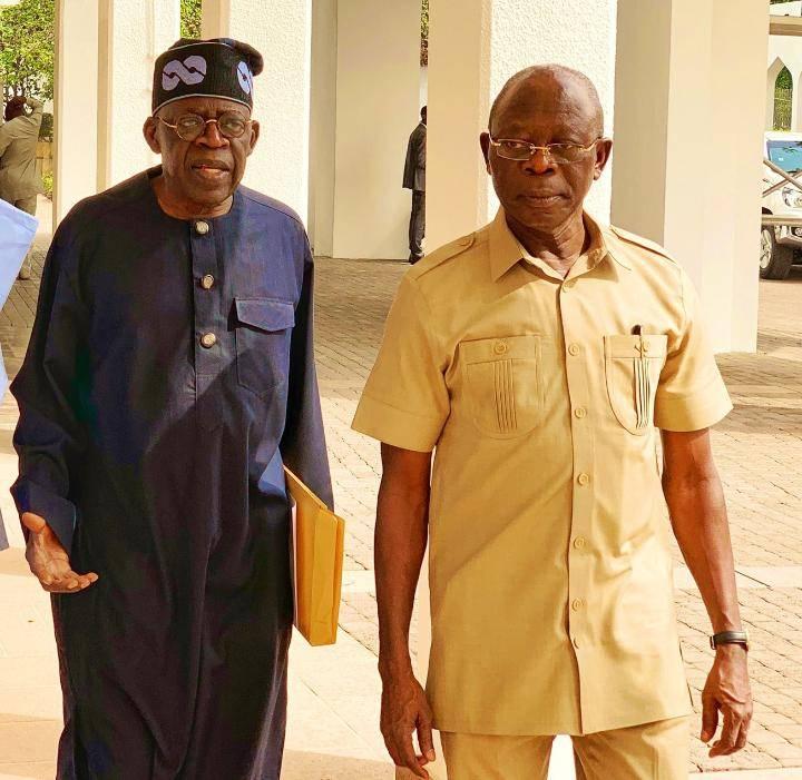 Photo of Tinubu: 'At 68, Oshiomhole has lots to offer Nigeria'