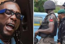 Photo of Burna Boy, dad reportedly arrested for public disturbance, N100M debt  | VIDEO