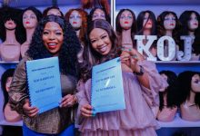 Photo of Nollywood Actress Wummi Toriola Bagged An Endorsement Deal With KOJ Hairways