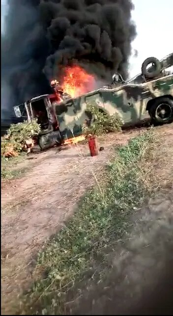 "Photo of ""E No Go Better For You Buratai"", Soldiers Curse Chief Of Army Staff 