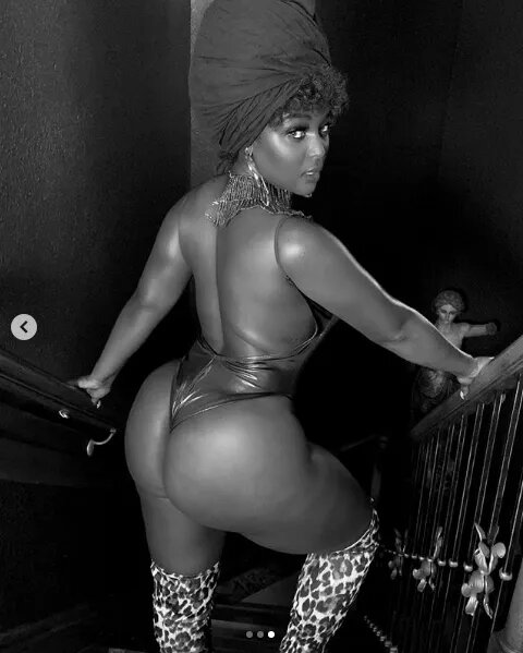 PHOTO: Amara Le Negra Flaunts Her Larger Than Life Behind On The Gram
