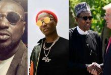 "Photo of ""Children of Nowadays Dem No Get Respect"" – Blackface Savages Wizkid For Disrespecting President Buhari & Donald Trump"