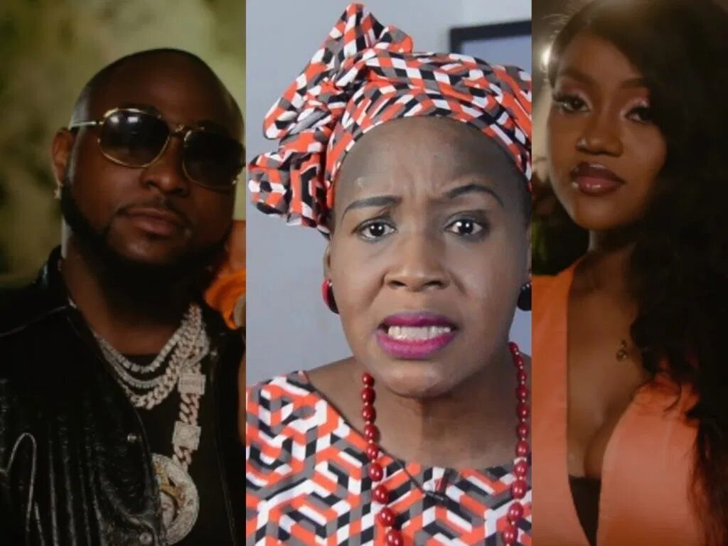 Daft Igbo Girl – Kemi Olunloyo Mocks Chioma As Davido Welcomes Baby With Larissa London