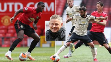 Photo of Pogba returns to action for Man Utd against opposite team to midfield rival