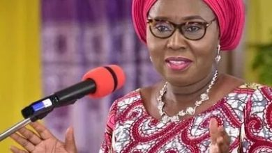 Photo of Gov. Akeredolu's Wife, Security Aide Test Positive For COVID-19