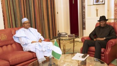 Photo of Buhari, Jonathan In Closed-door Meeting