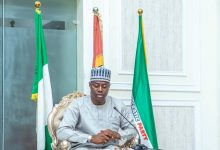 Photo of Gov. Makinde Sacks Works Commissioner