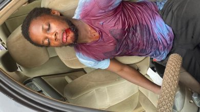 Photo of Nollywood Actor Adebayo Adeniyi Survived accident