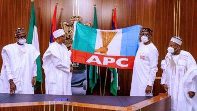 Photo of President Muhammadu Buhari Receives Pastor Ize-Iyamu As Flagbearer For The Edo Elections