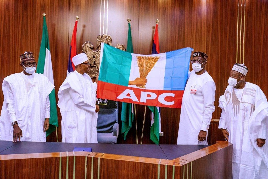 President Muhammadu Buhari Receives Pastor Ize-Iyamu As Flagbearer For The Edo Elections