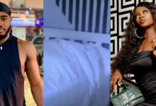 Photo of VIDEO: BBNaija housemates Praise, Ka3na caught having s3x