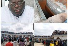 Photo of PHOTOS: Massive Crowd At Sen. Buruji Kashamu's Burial Today At Ijebu-Igbo