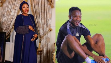 Photo of Nigerian Footballer, Ahmed Musa And His Wife Julie Welcome Baby Boy