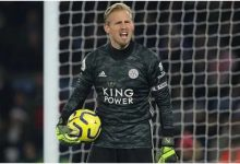 Photo of Chelsea target Leicester City goalkeeper Schmeichel
