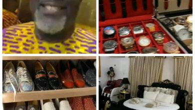 Photo of Dino Melaye Flaunts His Expensive Watches, Shoes, Perfumes As Dele Momodu Takes A Tour Of His House | VIDEO