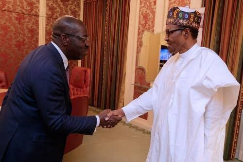 President Buhari Congratulates Obaseki On His Victory