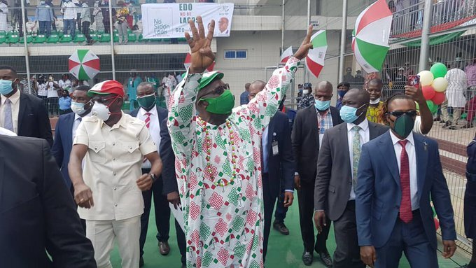 #EdoDecides: PDP's Obaseki Wins Edo Gubernatorial Election